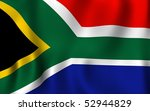 south africa flag 2010 | Shutterstock . vector #52944829
