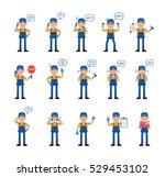 big set of auto mechanic...   Shutterstock .eps vector #529453102