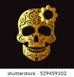 Skull Vector Background For...
