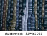 colorful carpet texture.... | Shutterstock . vector #529463086