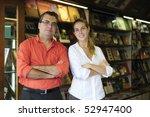 proud family business partners... | Shutterstock . vector #52947400