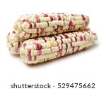 Cobs Of Corn Isolated On A...