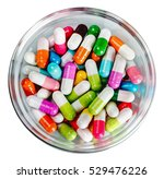Many Different Colored Pills...