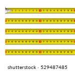 tape measure vector... | Shutterstock .eps vector #529487485