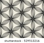 vector seamless pattern. floral ... | Shutterstock .eps vector #529513216