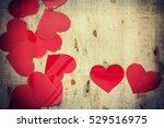 valentines hearts | Shutterstock . vector #529516975