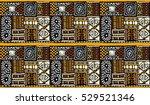 african pattern  seamless... | Shutterstock .eps vector #529521346