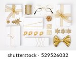 christmas or new year... | Shutterstock . vector #529526032