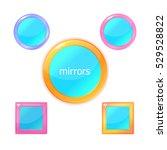 mirror set. icon design for app ...