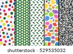 simple wrapping paper in... | Shutterstock .eps vector #529535032