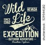 wild life expedition  outdoor...   Shutterstock .eps vector #529544182