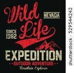 wild life expedition  outdoor...   Shutterstock .eps vector #529544242