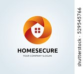 home security logo | Shutterstock .eps vector #529545766