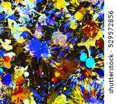 seamless blots texture. color... | Shutterstock .eps vector #529572856