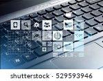 web. | Shutterstock . vector #529593946