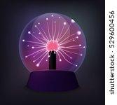 Plasma Ball With Luminous...