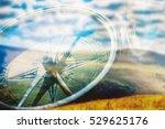 compass. | Shutterstock . vector #529625176