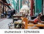antiques fair | Shutterstock . vector #529648606