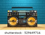 musical tape player recoreder.... | Shutterstock . vector #529649716