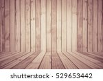 brown wood plank wall texture...   Shutterstock . vector #529653442