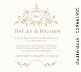 graphic design page. wedding...   Shutterstock .eps vector #529661935