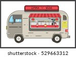 china wok.mobile restaurant... | Shutterstock .eps vector #529663312