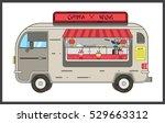 china wok.mobile restaurant... | Shutterstock .eps vector #529663312