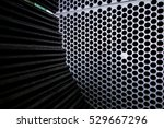 steel tubes of the heat... | Shutterstock . vector #529667296