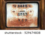 Old Rusty South African Gas...