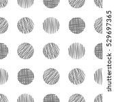 seamless raster  geometrical... | Shutterstock . vector #529697365