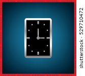 clock icon vector. | Shutterstock .eps vector #529710472