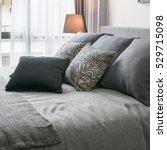 stylish bedroom interior design ...   Shutterstock . vector #529715098
