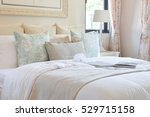 vintage bedroom interior with...   Shutterstock . vector #529715158
