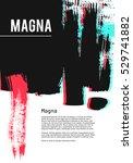 design templates for brochures. ... | Shutterstock .eps vector #529741882