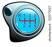 top of the button of the manual ... | Shutterstock .eps vector #52977037