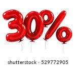 30  discount made of red... | Shutterstock . vector #529772905