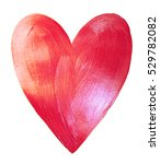 shiny pink watercolor texture...   Shutterstock . vector #529782082