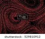 luxury holiday background with... | Shutterstock .eps vector #529810912