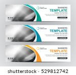 abstract banner design... | Shutterstock .eps vector #529812742