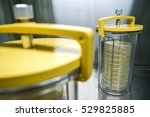 anaerobic jar for culture... | Shutterstock . vector #529825885