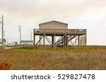 stilt house in the bayou of... | Shutterstock . vector #529827478