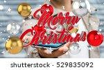 businessman on blurred... | Shutterstock . vector #529835092