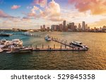 downtown miami  florida  usa ... | Shutterstock . vector #529845358