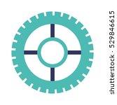 isolated gear design   Shutterstock .eps vector #529846615