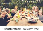 kids celebration party... | Shutterstock . vector #529894792