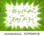 christmas theme with holiday... | Shutterstock .eps vector #529906918