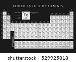 periodic table of the elements... | Shutterstock .eps vector #529925818