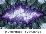 an abstract computer generated... | Shutterstock . vector #529926496