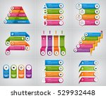 collection infographics. design ... | Shutterstock .eps vector #529932448