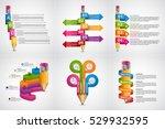 educational infographics...   Shutterstock .eps vector #529932595